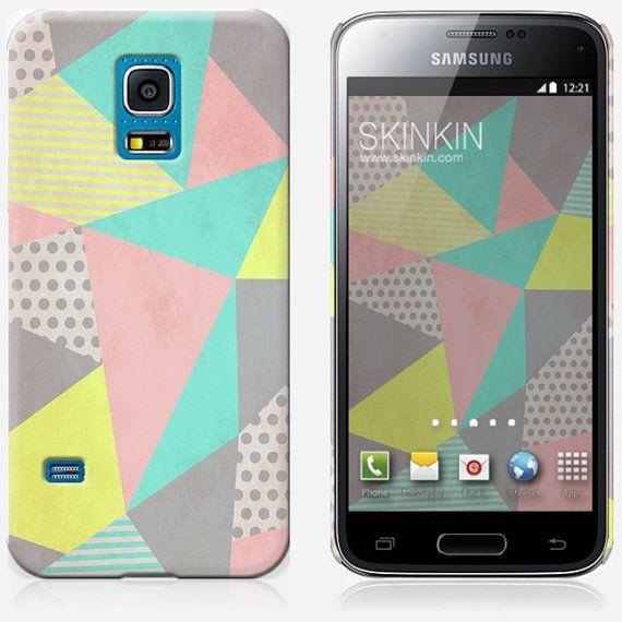 Samsung Galaxy S5 Mini Case Geometric Pastel By Louise Machado Mini Case Samsung Galaxy S5 Cute Phone Cases
