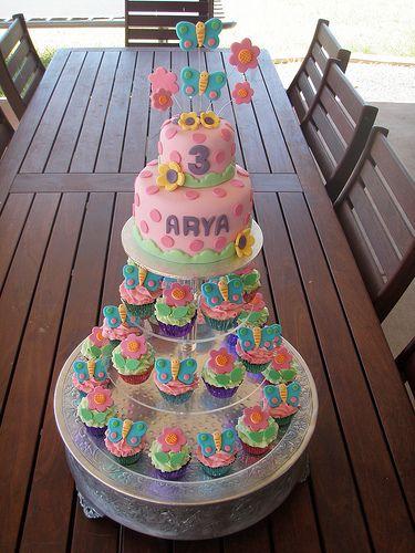 3rd Birthday Cupcake Ideas Masterpiece Arya S 3rd Birthday