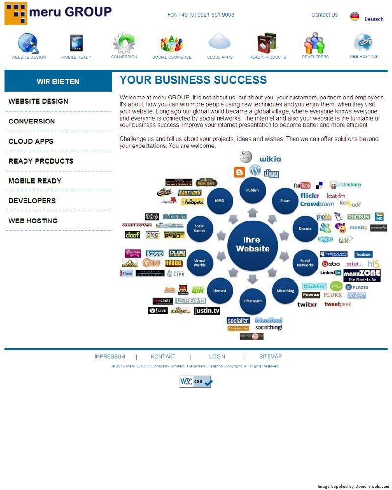 Meru Group Org Whois Dns Domain Info Domaintools Screenshot History Meru Success Business Info
