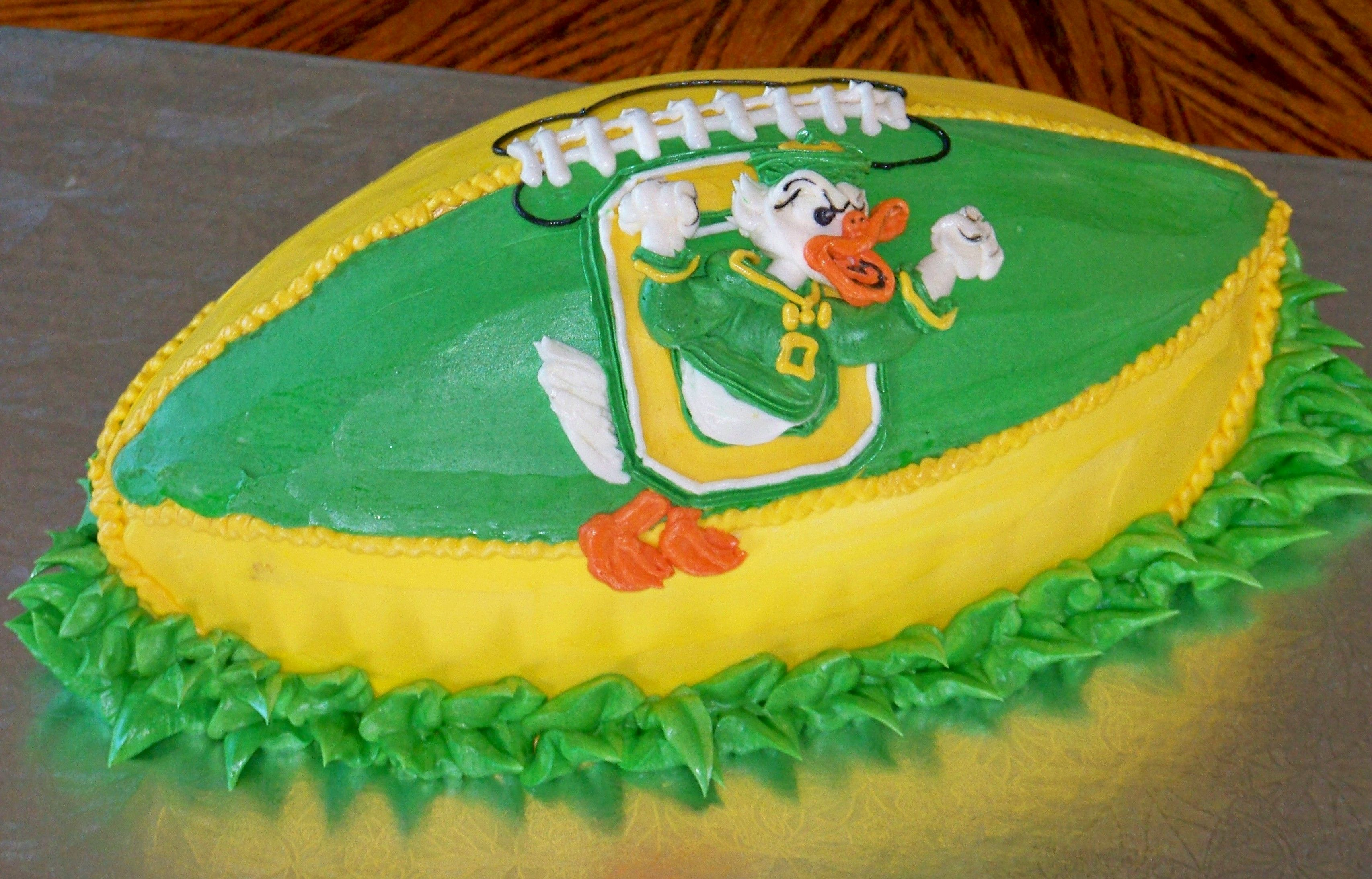 Oregon Fighting Duck Cake