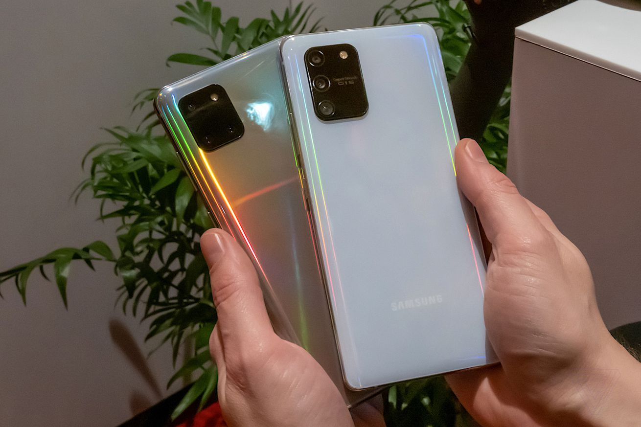 Samsungs new Galaxy S10 Lite and Note 10 Lite phones are