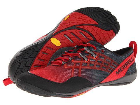 merrell mens trail glove 2 trail running shoe rac