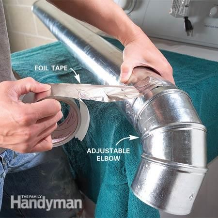 Dryer Vents How To Hook Up And Install Dryer Vents Laundry Room