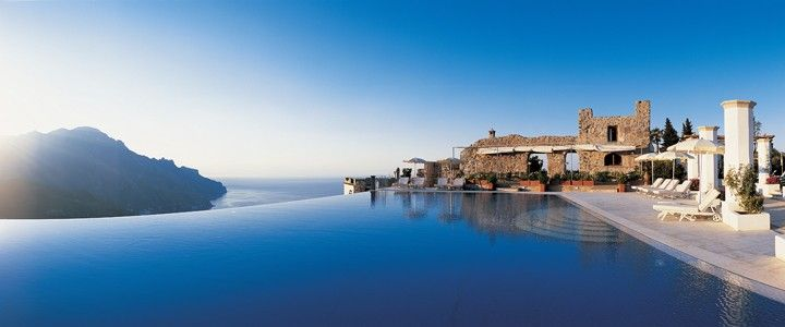 Infinity Pool at Belmond Hotel Caruso, Ravello, Italy | Hotel ...