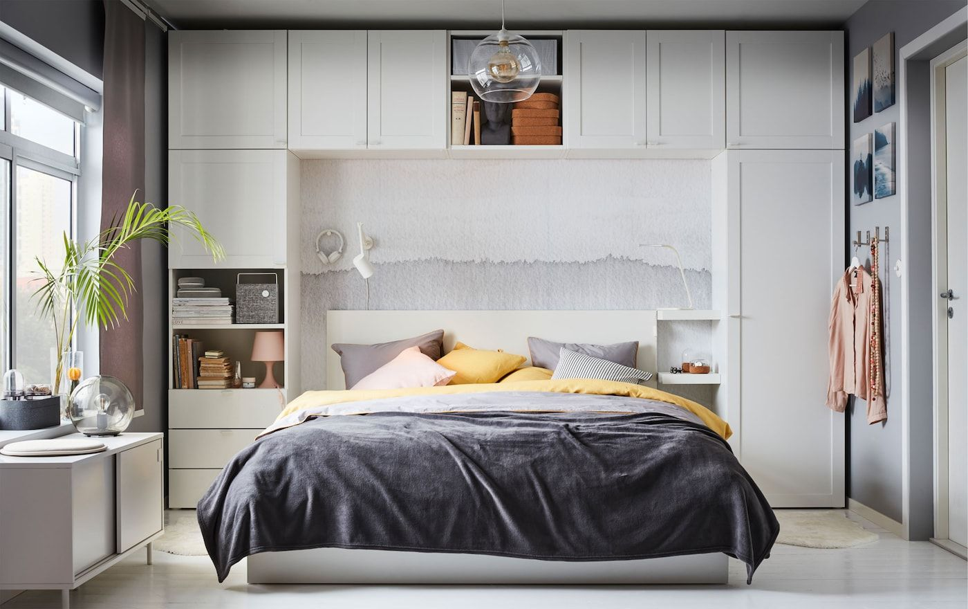 Rangez Autour De Votre Lit Small Bedroom Storage Bedroom Storage Ikea Bedroom