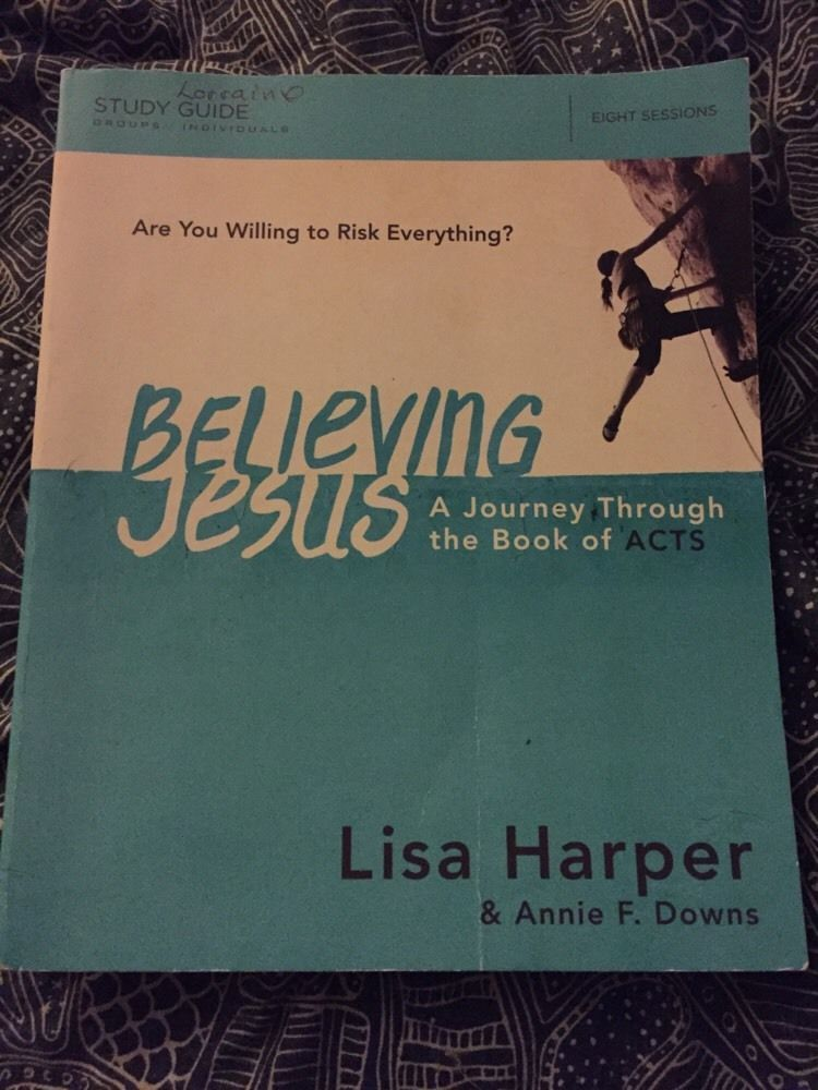Believing jesus a journey through the book of acts lisa