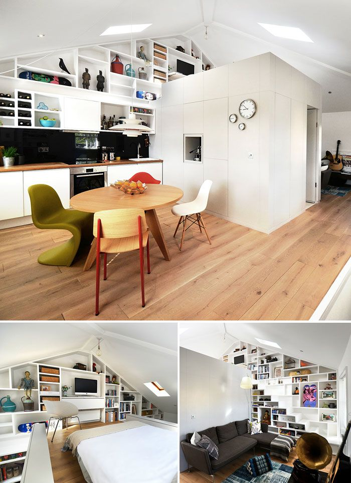 50 Small Studio Apartment Design Ideas (2019) - Modern ...