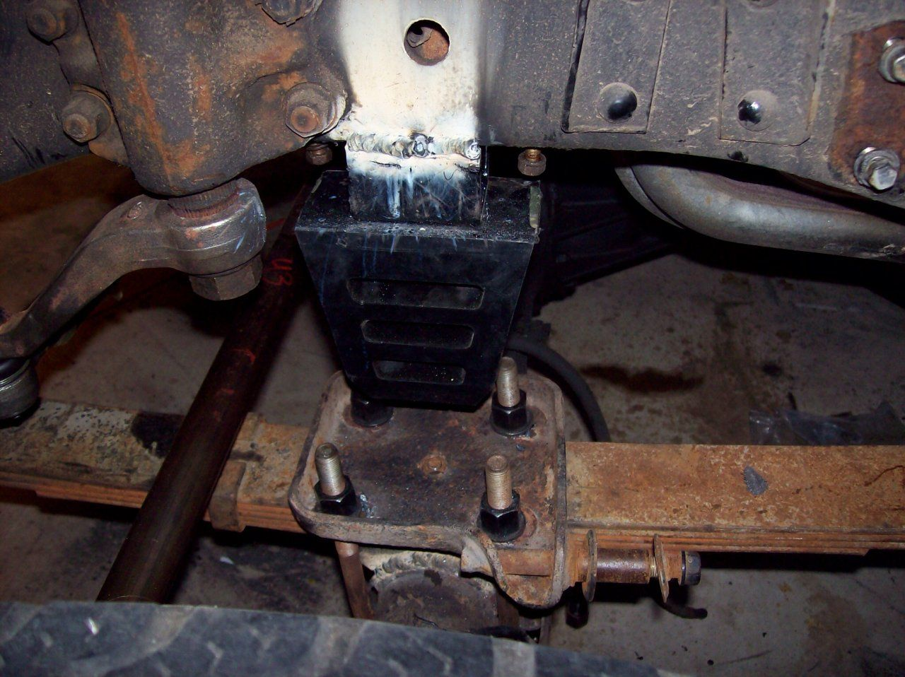 Aftermarket Suspension Bump Stops Bump Weld Land Cruiser