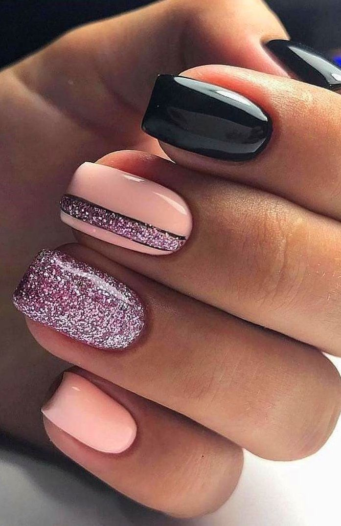 30 Newest Short Nails Art Designs To Try In 2020 In 2020 Pink Nails Makeup Nails Designs Short Acrylic Nails