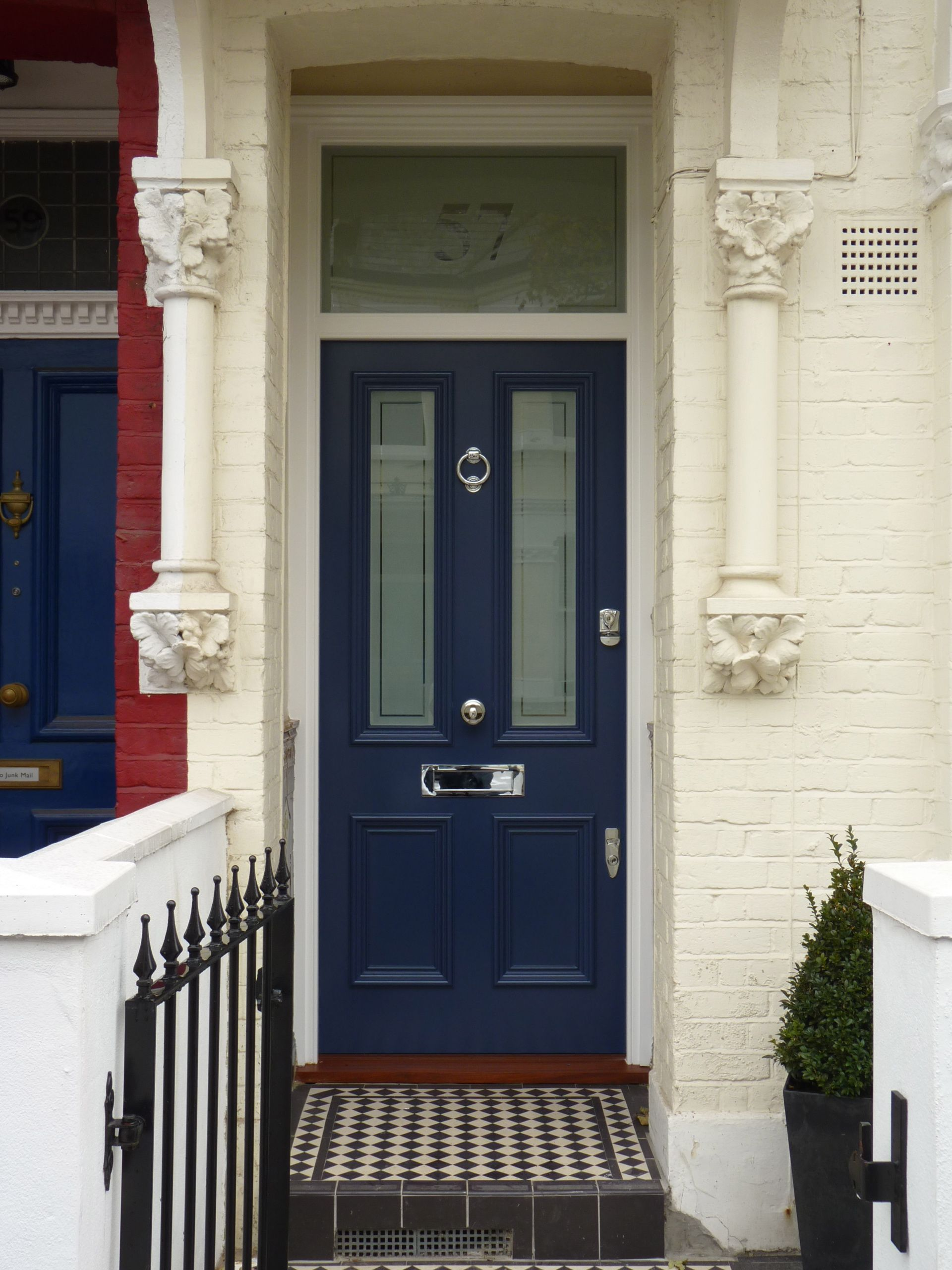 Door Entry South West London  Ldc Storm Blue