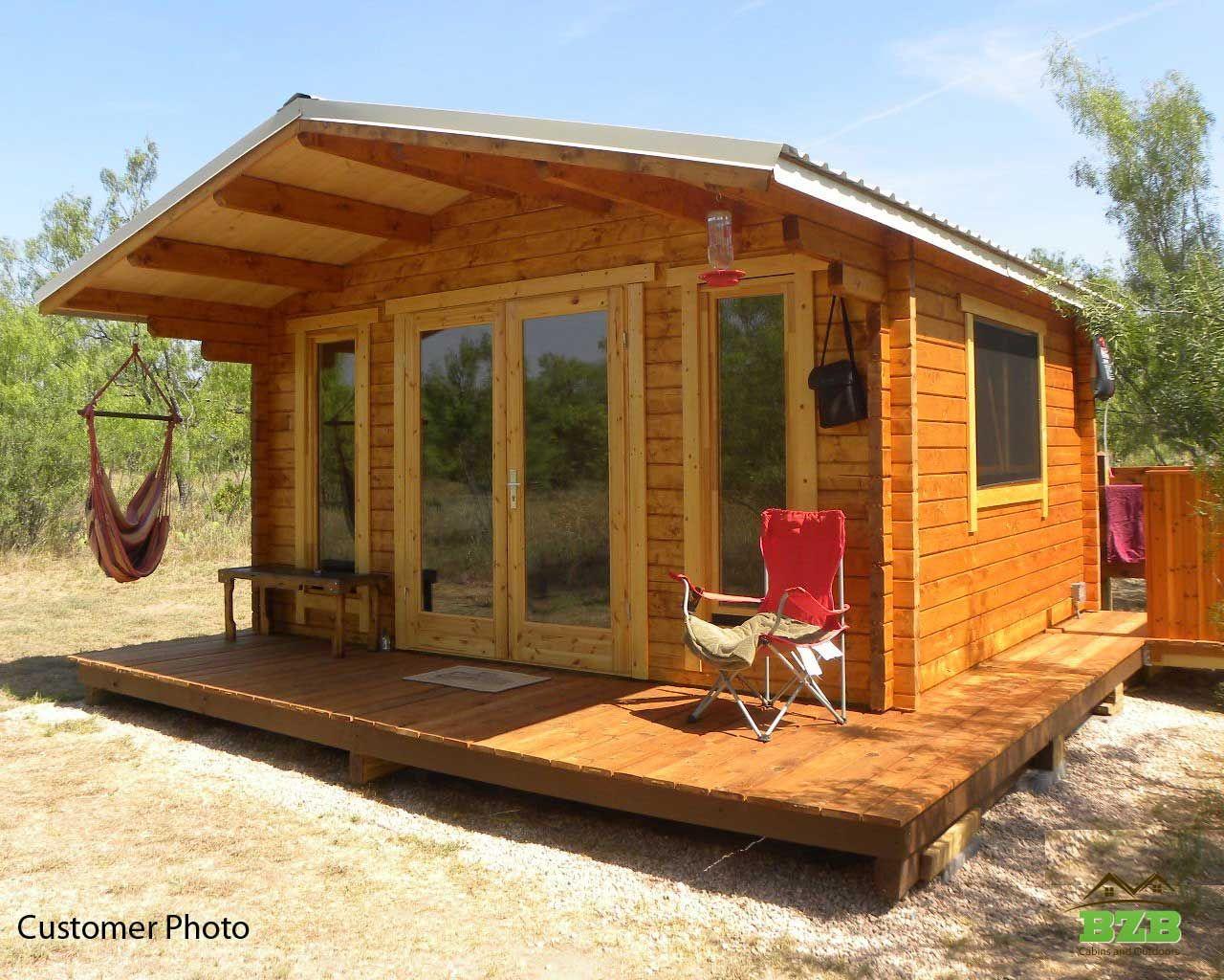 Sunset Cabin Kit Bzb Cabins Backyard Cabin Log Cabin Exterior Cabin Kits
