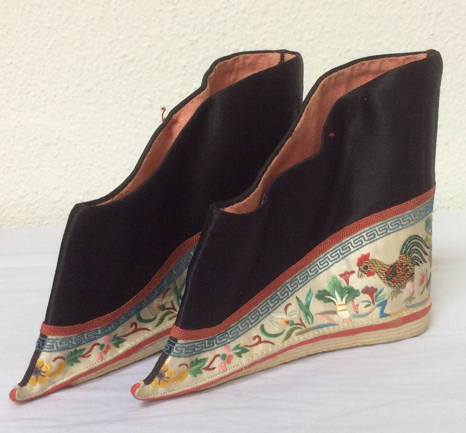 Rooster. My Collection. Bound Foot Shoes China Qing