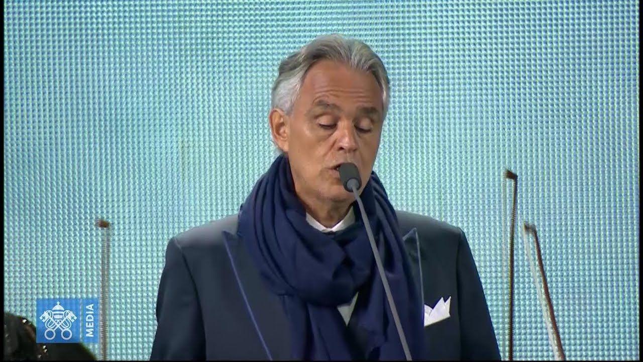 Andrea Bocelli Sings Breathtaking Rendition Of Schubert S Ave