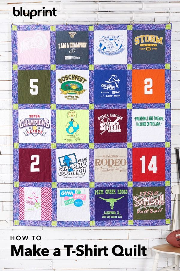 T Shirt Quilts Online Class Start To Finish We Love