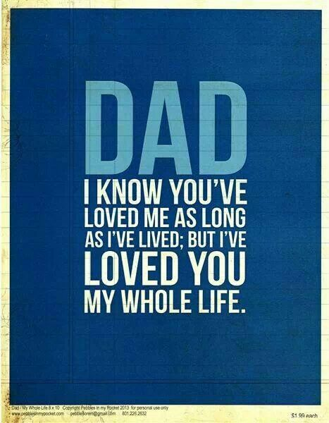 i miss my dad so much but i will always love him