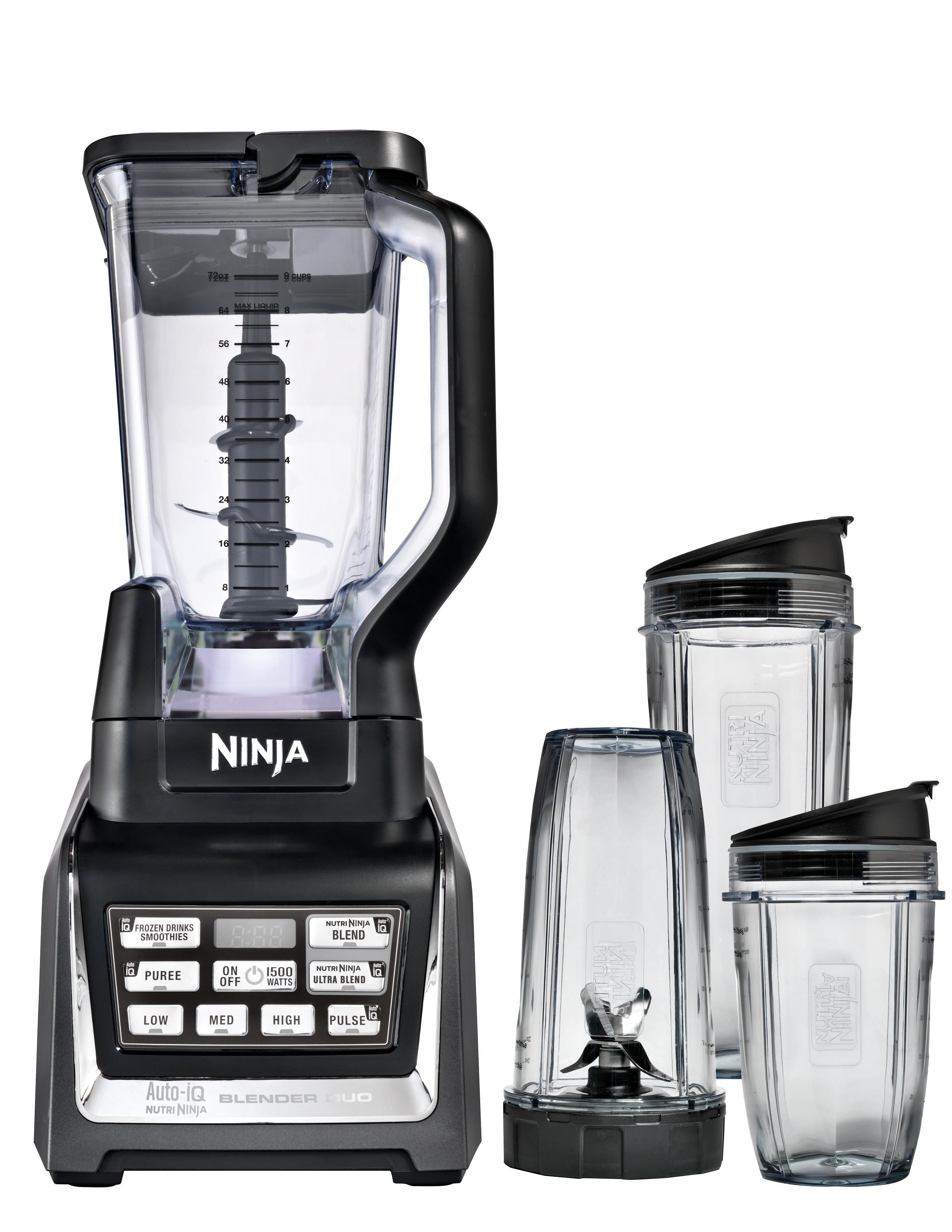 Amazon Nutri Ninja Blender Duo with Auto iQ BL641 Kitchen