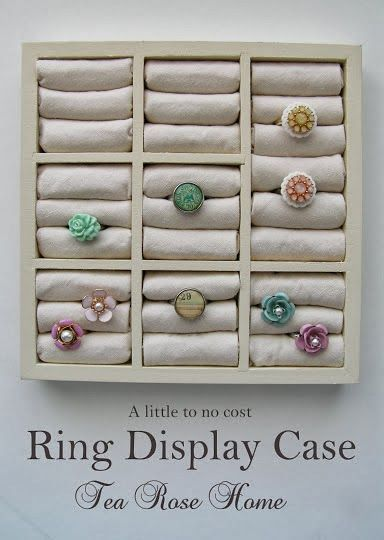 How to Make a Vertical Ring Display and the Use of AntiTarnish