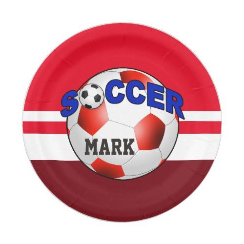 DIY Soccer Ball CHOOSE YOUR BACKGROUND COLOR Paper Plate  sc 1 st  Pinterest & DIY Soccer Ball CHOOSE YOUR BACKGROUND COLOR Paper Plate ...
