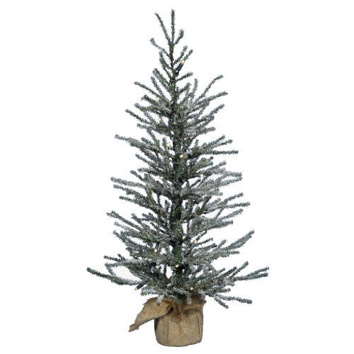 Vickerman Pre-Lit Angel Pine Tree with 20 Clear Mini Lights and