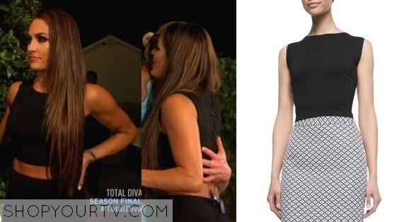 Total divas season 4 episode 13 nikki 39 s crop top tv show fashion style and clothes - Fashion diva tv ...