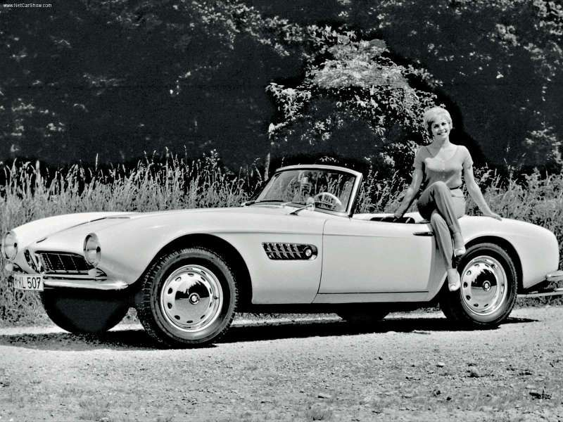 BMW 507 - Front Angle, 1955