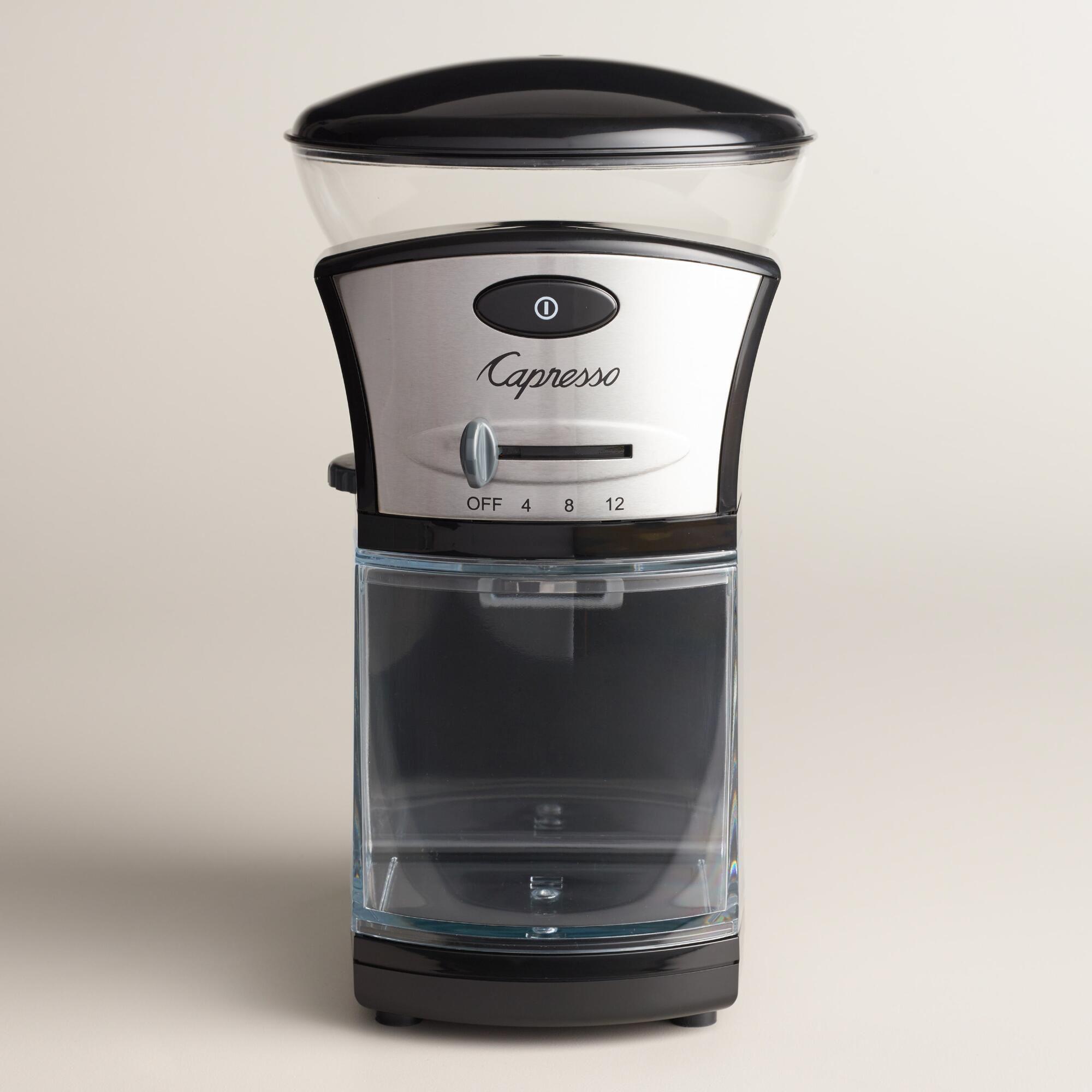 Capresso Electric Burr Coffee Grinder Burr coffee