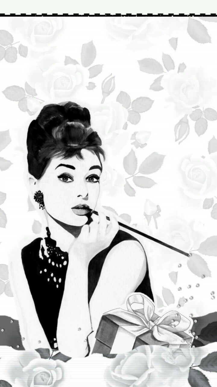 Pin By Glen On C0ol Lil Picz Marilyn Monroe And Audrey Hepburn Cute Home Screens Wallpaper Iphone Cute