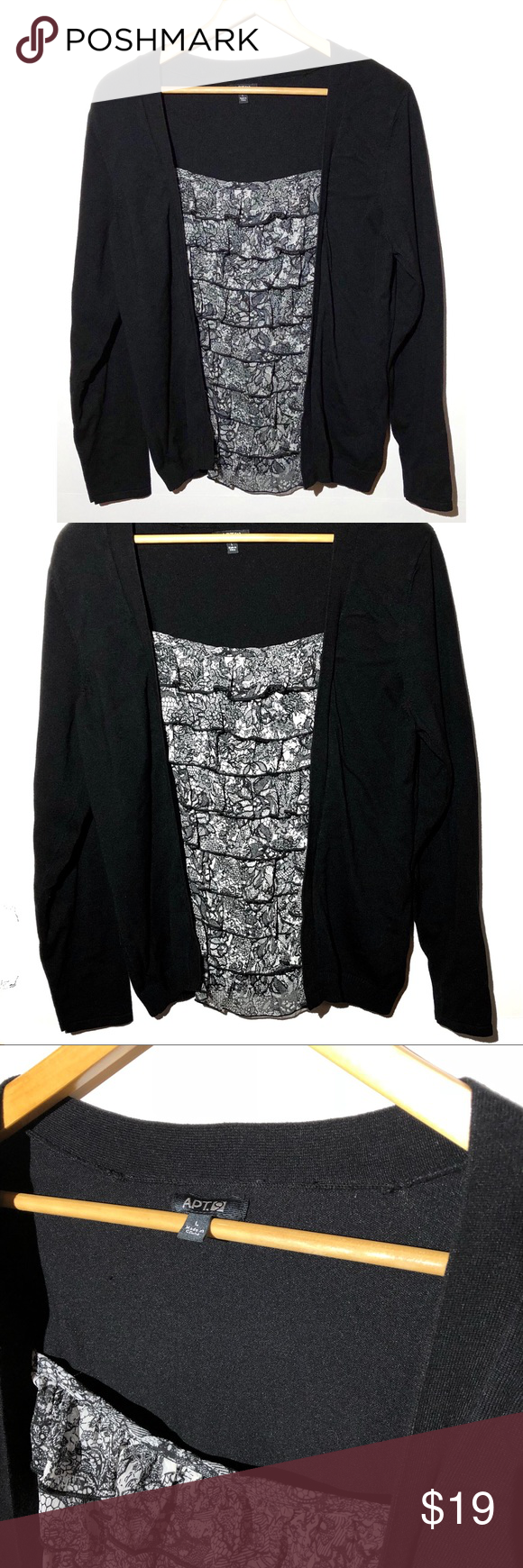 Final Markdown Faux Layered Sweater Blouse Combo My Posh Picks