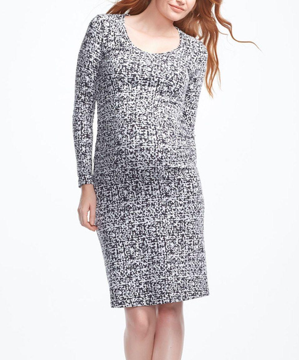 bb482db884c7c Love this White Atom Maternity Sienna Dress - Women by Soon Maternity on  #zulily! #zulilyfinds