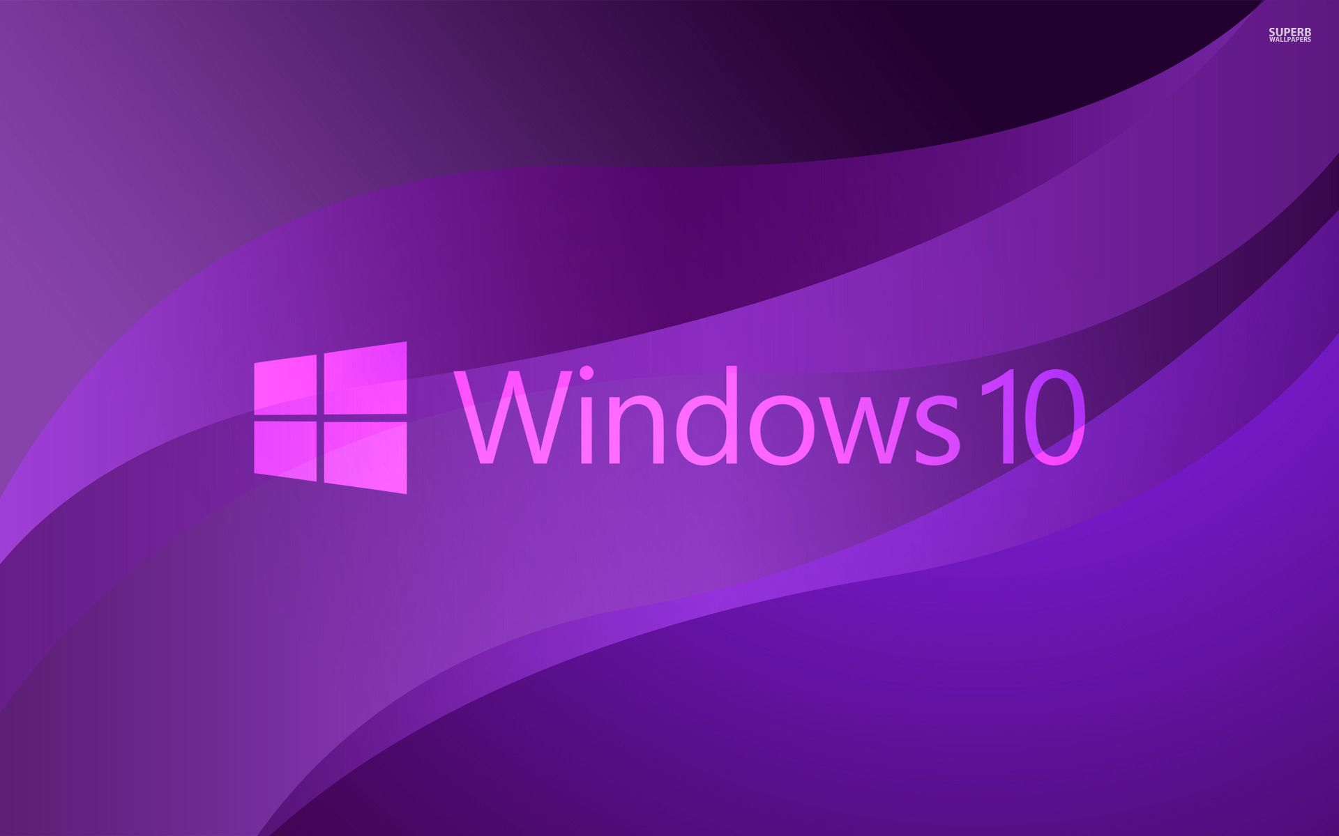 Windows 10 Transparent Text Logo On Purple Wallpaper Purple Wallpaper Transparent Text Windows