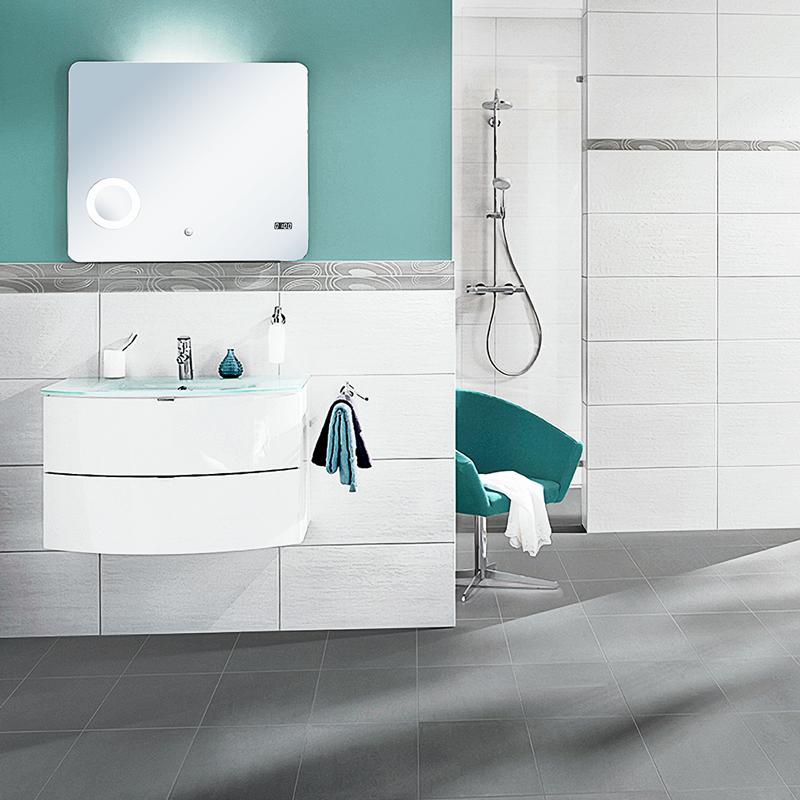Der Waschtischunterschrank Tao Von Salsa Uberzeugt Mit Seiner Modernen Abgerundeten Form Und Gibt Ihrem Badezimmer Baderwelt Badezimmer Waschtischunterschrank