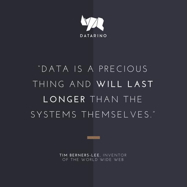 Datarino Datarinocom Big Data Quote Data Quotes Business Quotes