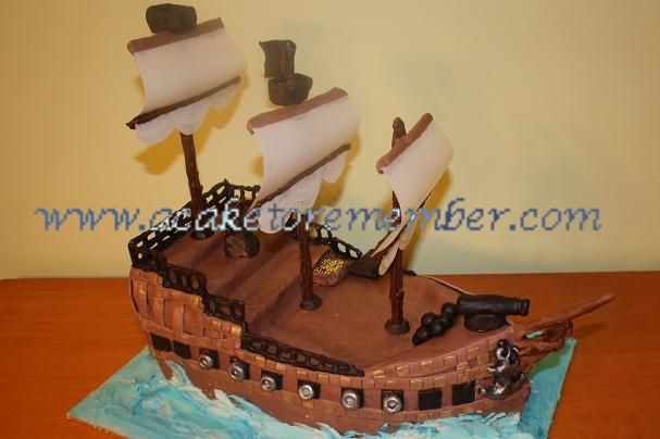 pirate ship birthday cakes copyright a cake to remember llc custom