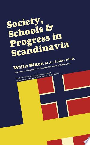 Society Schools And Progress In Scandinavia Pdf Download In 2020 Society Science Books School