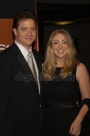 брендан фрейзер с женой фото
