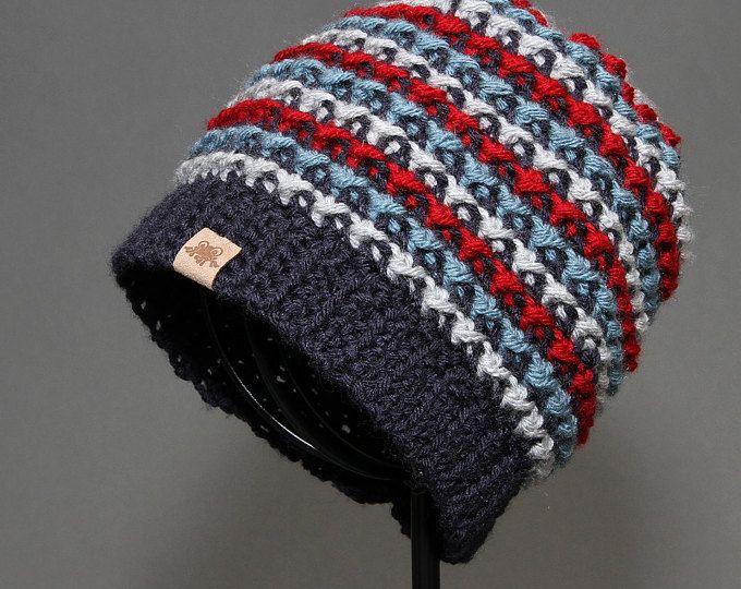 Crochet Pattern Rainer Beanie Crochet Hat Pattern Includes 6 Sizes