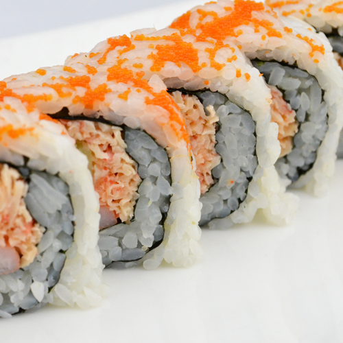 how to make crab sushi roll