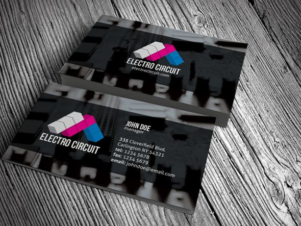 Creative and modern electrical business card design perfect for creative and modern electrical business card design perfect for electrical and electronic related business fbccfo Choice Image