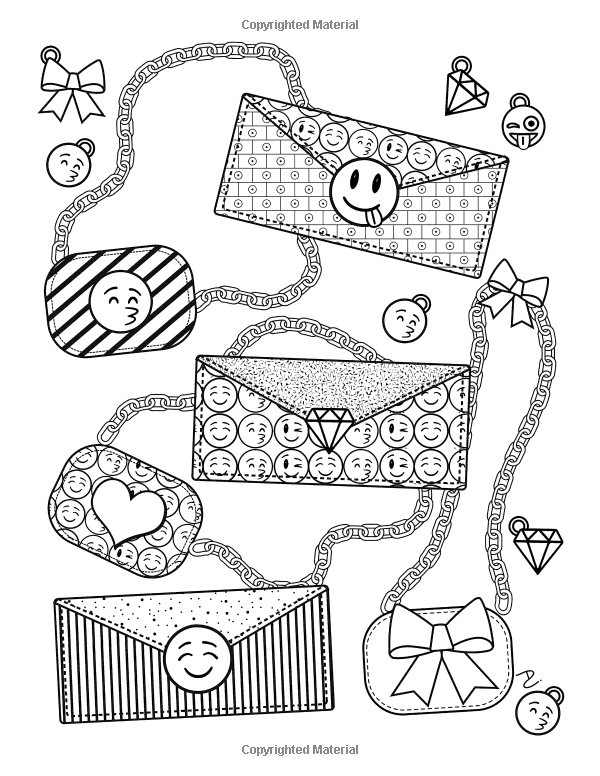 Emoji World Coloring Book 24 Totally Awesome Coloring Pages Dani Kates 9781523935697 Amazon Com Bo Emoji Coloring Pages Cute Coloring Pages Coloring Books
