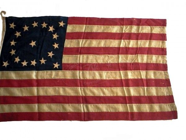 Zfc Item Summary U S 19 Star Exclusionary Flag Flag Abolitionist Stars