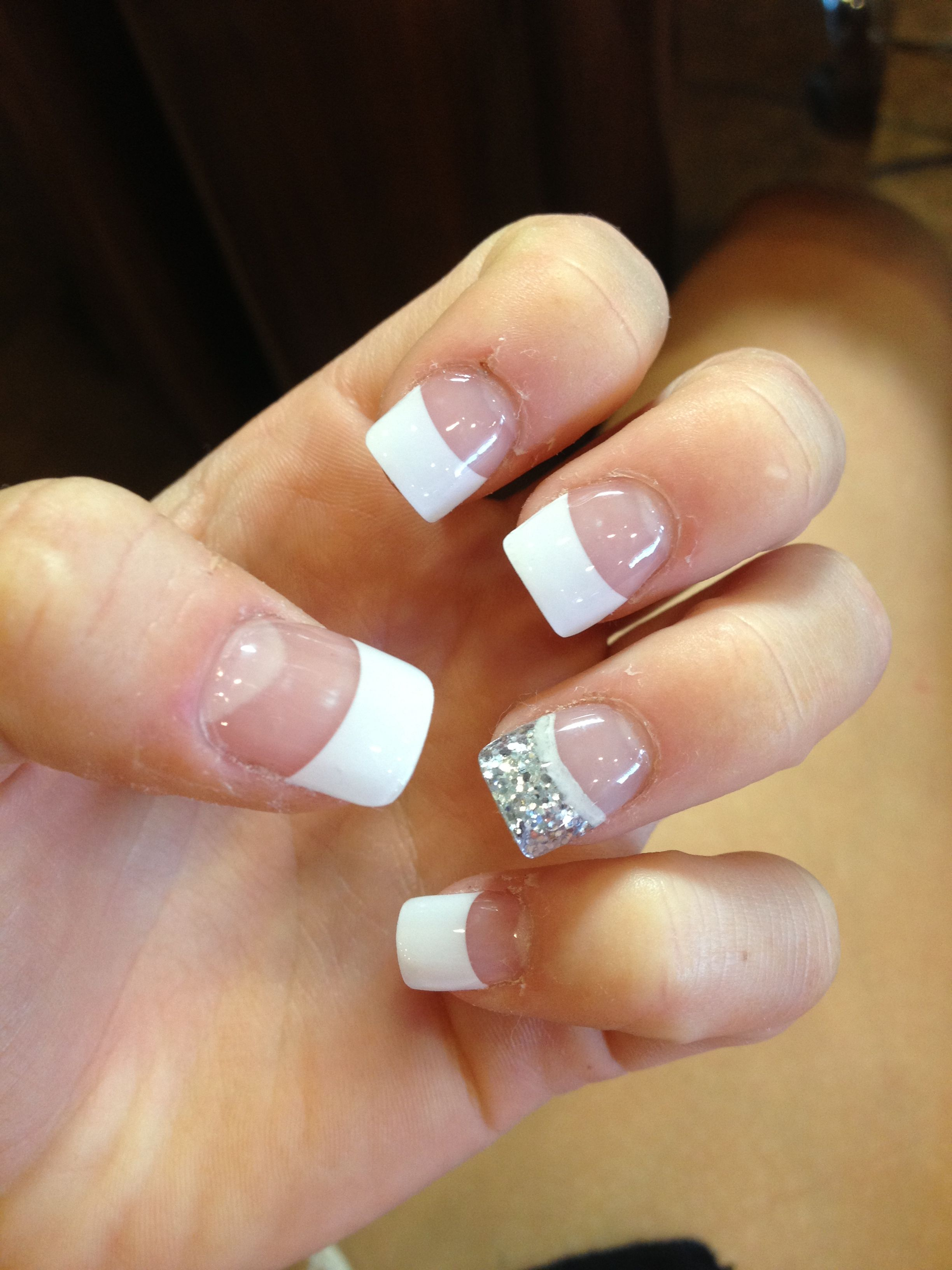 Cute prom nails this is what I did! Feet choice I your simple but ...