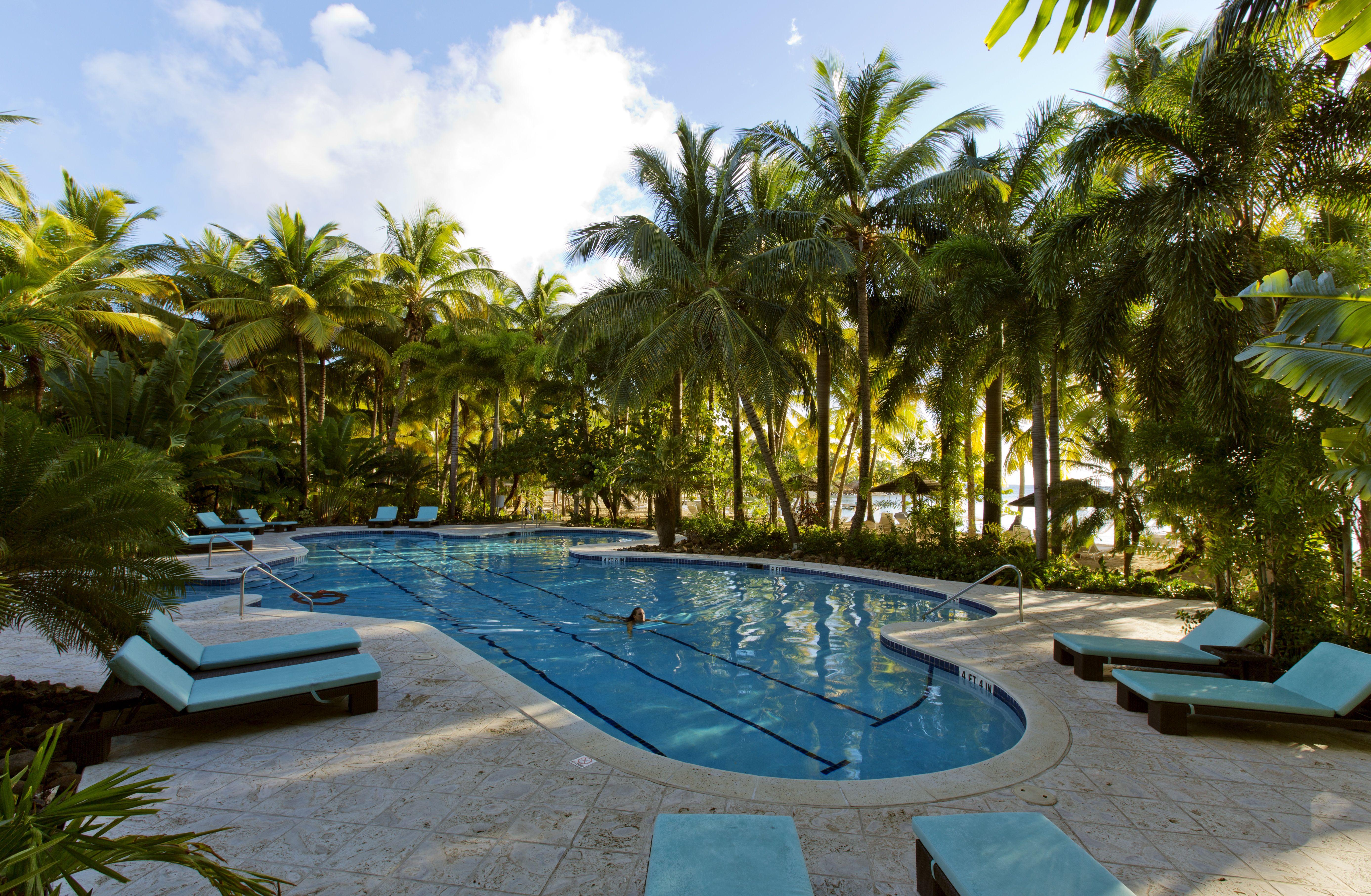 Pool at Curtain Bluff | Curtain Bluff Resort, Antigua | Pinterest ...