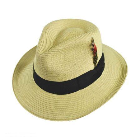 Summer C-Crown Toyo Straw Fedora Hat 8556ce45d69
