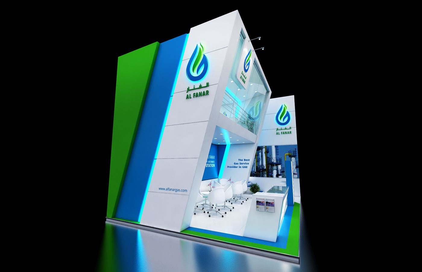 AL Fanar - Adipec Abu Dhabi 2015 on Behance
