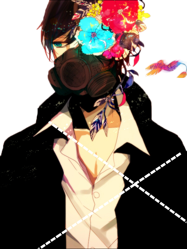 Pin by Lostwings on art Gas mask, Anime, Anime boy