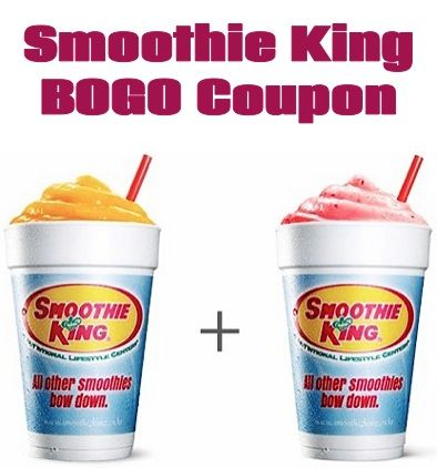photo about Smoothie King Printable Coupons named Smoothie King Coupon: Invest in 1, Choose 1 Totally free! #smoothies @Callie