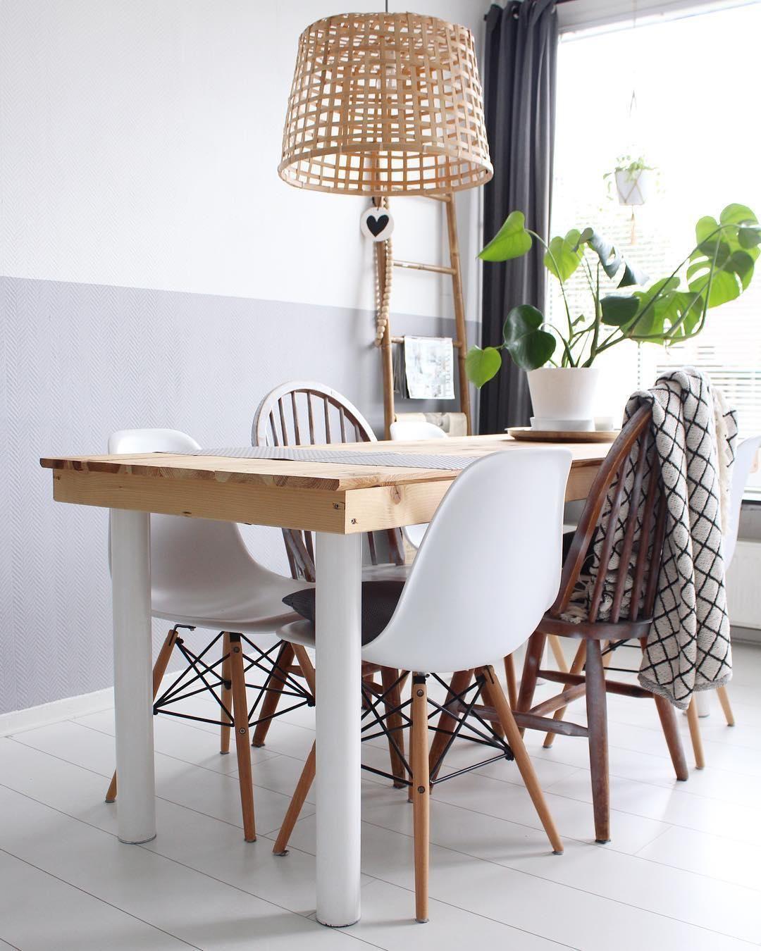 natural vibes mit einem esstisch und st hlen aus holz kommt natur pur in das esszimmer der. Black Bedroom Furniture Sets. Home Design Ideas