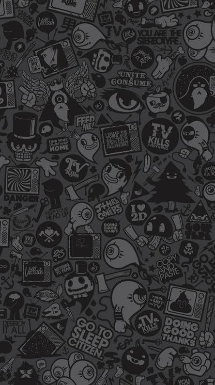 Black Wallpaper Iphone Dark Abstract
