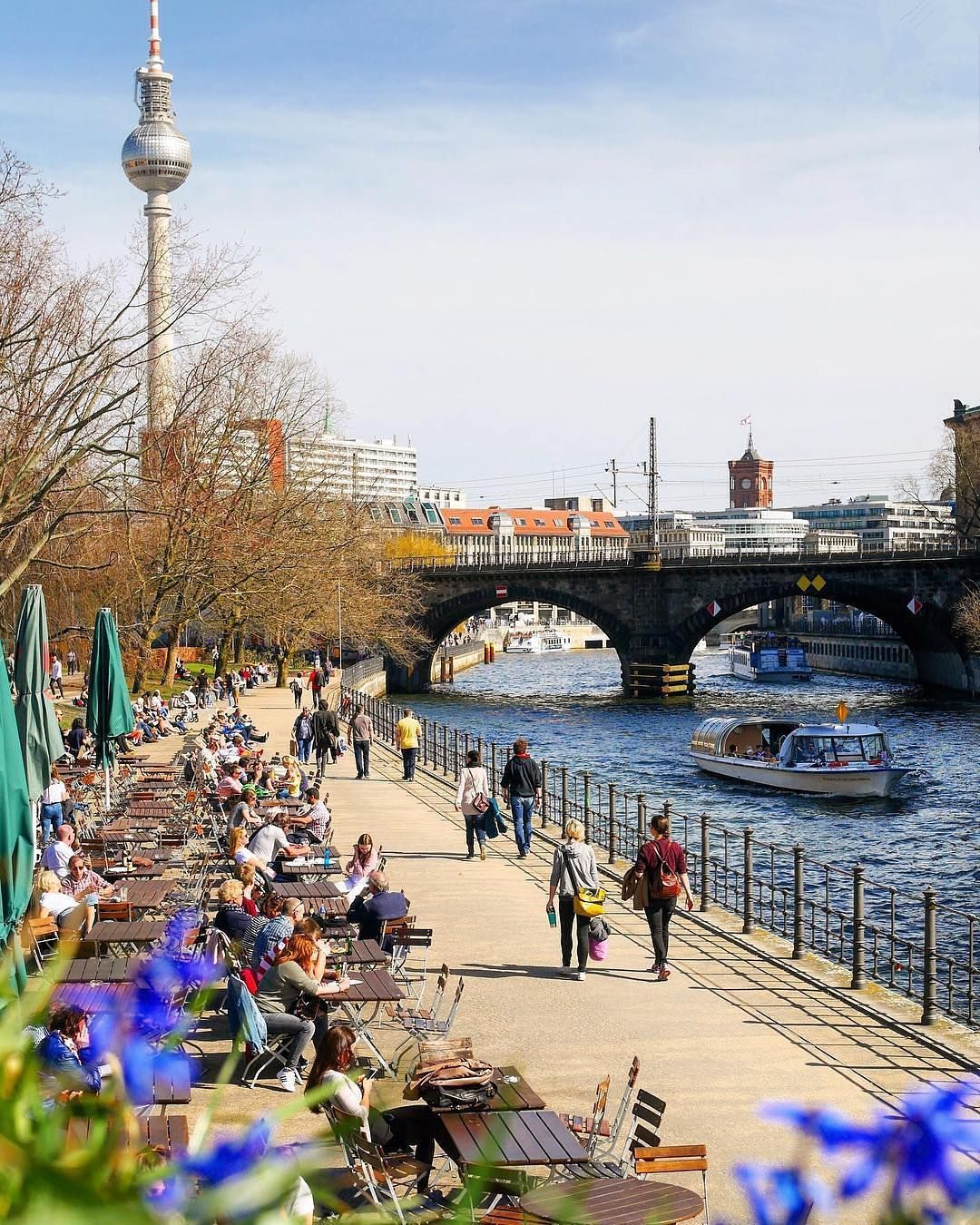 Spring In Berlin Awesomeberlin Cool Places To Visit Most Beautiful Places Berlin Photos