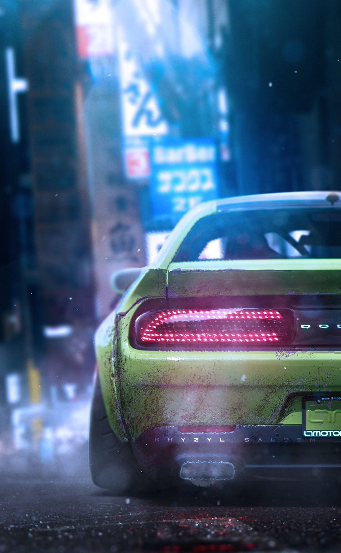 ArtStation Thrive., Khyzyl Saleem Mustang cars, Car